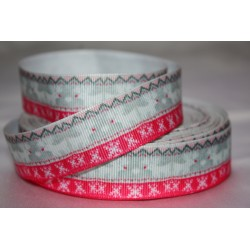 "1 metre 7/8"" Next M2M * Christmas Reinder * Grosgrain Ribbon"