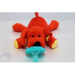 Soft Cozy Dog Plush Toy Pacifier / Good Sleep- DOG