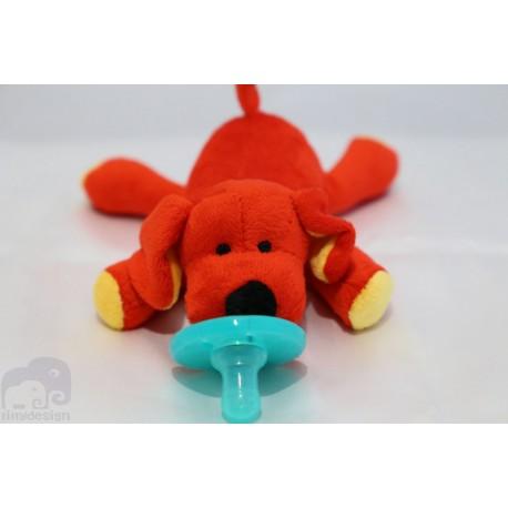 Soft Cozy Dog Plush Toy Pacifier / Good Sleep- DOG
