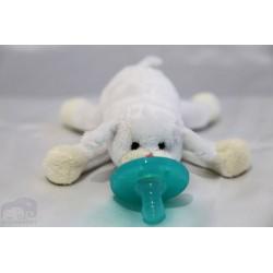Soft Cozy Plush Toy Pacifier / Good Sleep- SHEEP