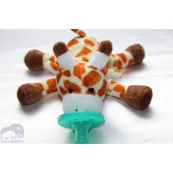 Soft Cozy Plush Toy Pacifier / Good Sleep-GIRAFFE