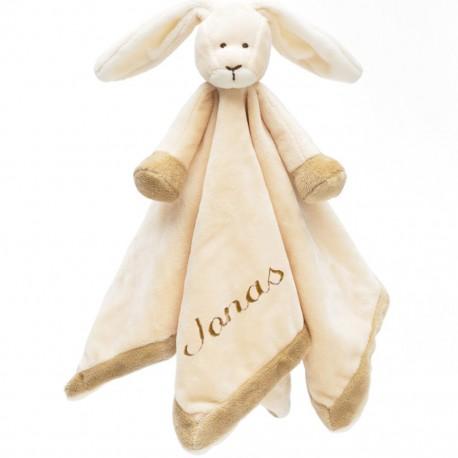 PERSONALISED Teddykompaniet - Diinglisar RABBIT - Baby Comfort Blanket
