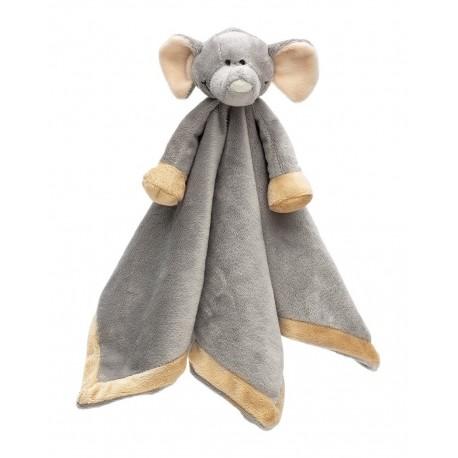 PERSONALISED Teddykompaniet - Diinglisar ELEPHANT- Baby Comfort Blanket