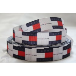 TOMMY HILFIGER - CLASIC Printed Grosgrain Ribbon 22mm - Crafts