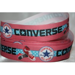 Conver... Printed Grosgrain Ribbon 22mm - Crafts