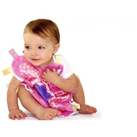 Soft Plush Plum blossom flower shape Baby Taggi comforter