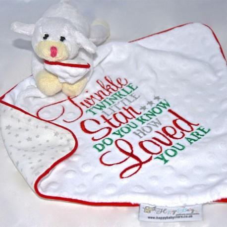 Sweet Lambs . Baby comforters