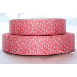 "1 metre 7/8"" Next M2M * RED SPOTS* Grosgrain Ribbon"