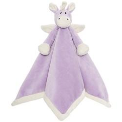 PERSONALISED Teddykompaniet - Diinglisar Purple UNICORN - Baby Comfort Blanket