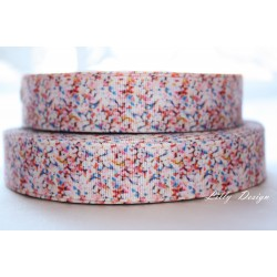 "1 metre 7/8"" Next M2M * BUTTERFLY STRUCTURED* Grosgrain Ribbon"