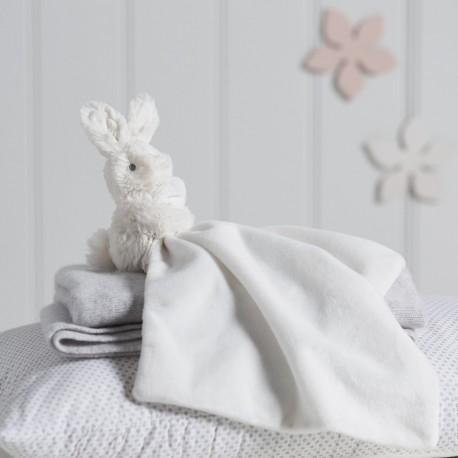 PERSONALISED Bonnie Bunny Comforter - Cream
