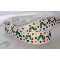 "M2M *HUNGRY CATTERPILLAR * 7/8"" Character Grosgrain Ribbon , Crafts - 1m"