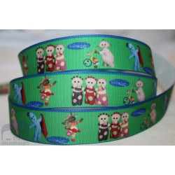 "M2M * In THE NIGHT GARDEN * 7/8"" Character Grosgrain Ribbon , Crafts - 1m"