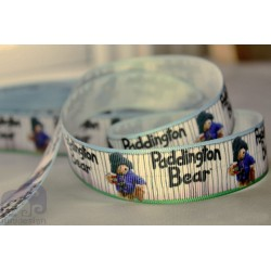 "M2M * PADINGTON BEAR * 7/8"" Character Grosgrain Ribbon , Crafts - 1m"