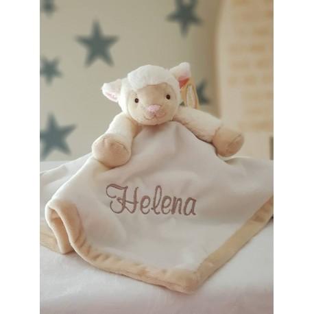 PERSONALISED Teddykompaniet - Diinglisar SHEEP- Baby Comfort Blanket