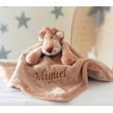 PERSONALISED Teddykompaniet - Diinglisar Wild Lion - Baby Comfort Blanket