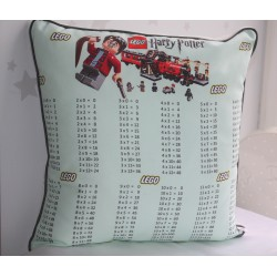 Harry Potter Lego Times Tables Pillows , kids cushions, kids gift,