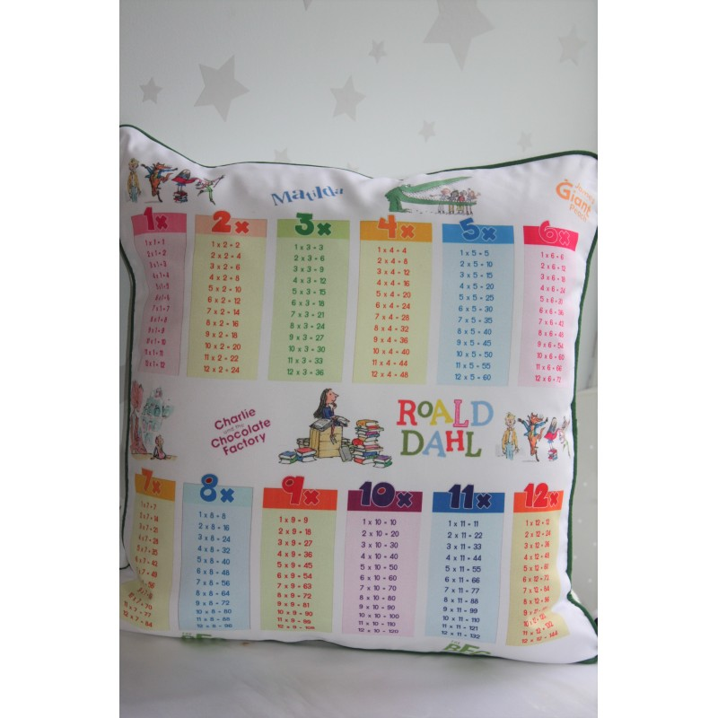 Multiplication Table Rectangle Pillow Covers Protector for Home