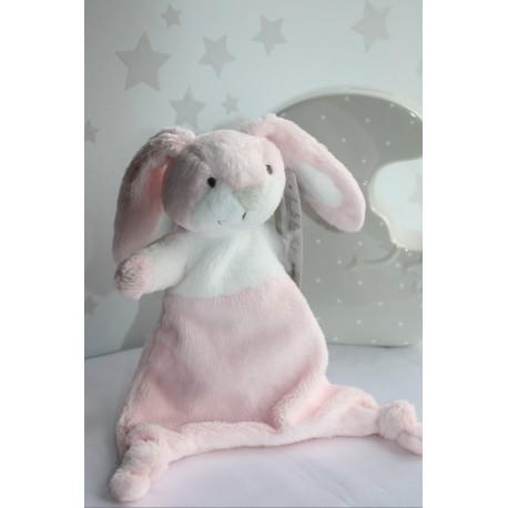 Pink Rabbit Soother, Baby Comforters, Baby blankets