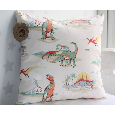Dinosaur Cath Kidston fabric / Kids bedroom nursery decoration accessory living room gift
