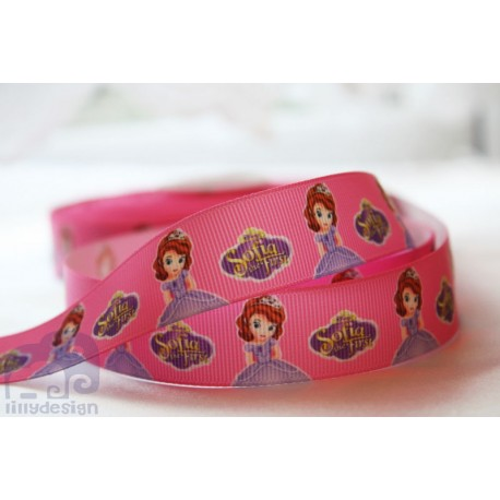 "M2M * CHARLEY BEAR HEAD* 7/8"" Character Grosgrain Ribbon , Crafts - 1m"