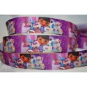"M2M * Dr. McStuffins - Purple* 7/8"" Character Grosgrain Ribbon , Crafts - 1m"