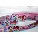 """M2M * Dr. McStuffins - Pink * 7/8"""" Character Grosgrain Ribbon , Crafts - 1m"""