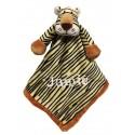 PERSONALISED Teddykompaniet - Diinglisar TIGER - Baby Comfort Blanket