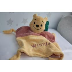 Personalised Disney Winnie The Pooh Baby Comforter / Blanket / Soother Blanket