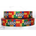 * LEGO -Logo * Printed Grosgrain Ribbon 22mm -Crafts