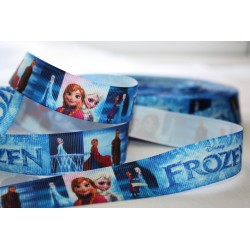 "M2M *FROZEN * 7/8"" Character Grosgrain Ribbon , Crafts - 1m"