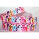 My LITTLE PONY -pink Printed Grosgrain Ribbon 22mm -Crafts