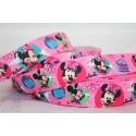 M2M Mini Mouse - Pink Printed Grosgrain Ribbon 22mm -Crafts