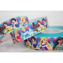 M2M All PRINCES - Blue Printed Grosgrain Ribbon 22mm -Crafts