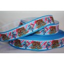Sheriff Callie - Blue Printed Grosgrain Ribbon 22mm -Crafts