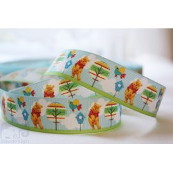 WINNIE the POOH Printed Grosgrain Ribbon 22mm -Crafts