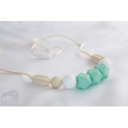 Pastel Silicone Breastfeeding Nursing Necklace Chew Teething