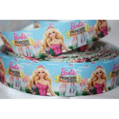 BARBIE Printed Grosgrain Ribbon 22mm -Crafts