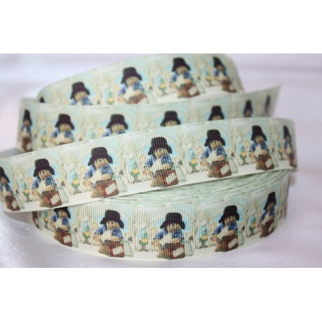 PADINGTON BEAR * Printed Grosgrain Ribbon 22mm -Crafts