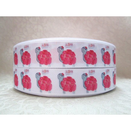 "1 metre 7/8"" Next M2M * TURTLE * Grosgrain Ribbon"