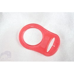 1 pcs. RED Silicone MAM Ring