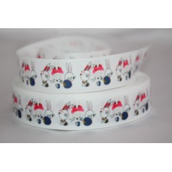 "1 metre 7/8"" Next M2M * BABY RABIt'S * Grosgrain Ribbon"