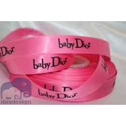 Baby Hot Pink Satin Ribbon 5/8``(16mm.) - 1 metre