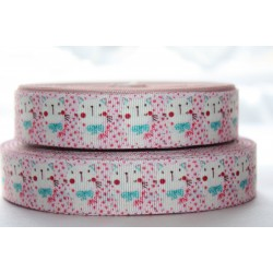 "1 metre 7/8"" Next M2M * Baby Cat * Grosgrain Ribbon"