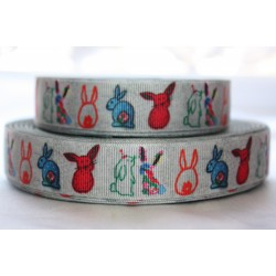 "1 metre 7/8"" Next M2M * PINEOPPLE * Grosgrain Ribbon"