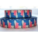 "1 metre 7/8"" Next M2M * COLOUR SPLASH * Grosgrain Ribbon"