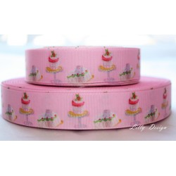 "1 metre 7/8"" Next M2M * JELLY * Grosgrain Ribbon"